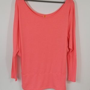Lucy Long Sleeve Off Shoulder Loose Fit Top